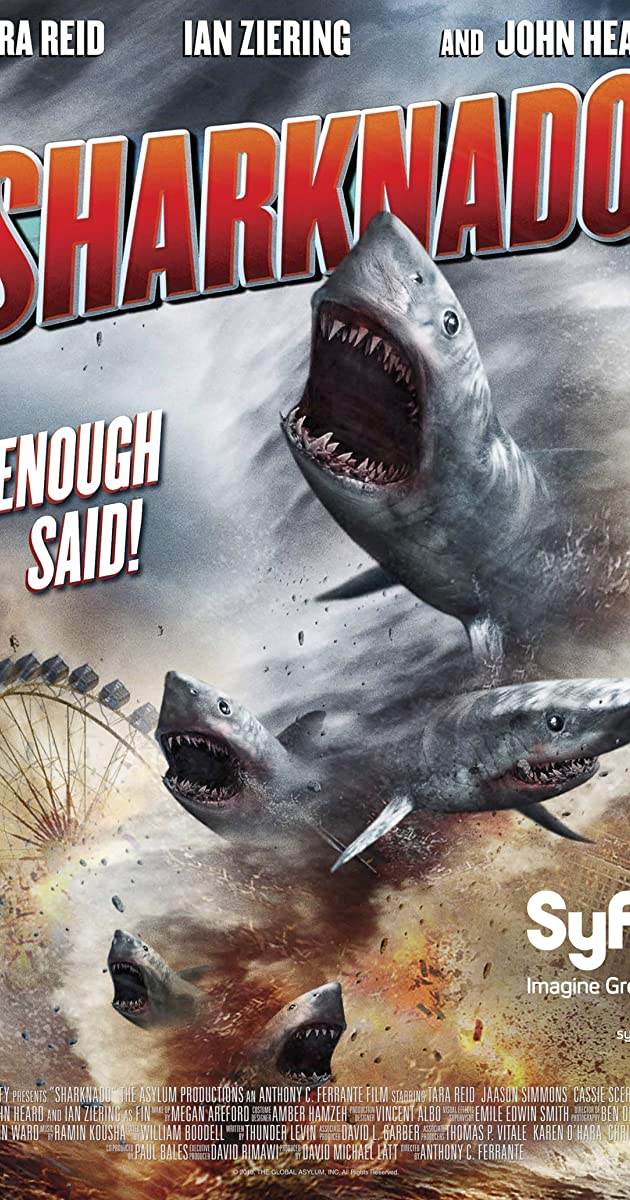 Subtitle of Sharknado