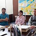 Megan Mullally, Nick Offerman, and Marc Evan Jackson in The Kings of Summer (2013)