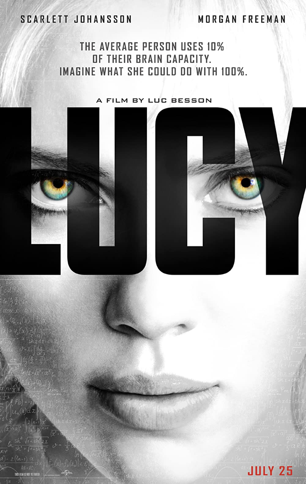 Lucy 2014 Hindi Dual Audio 720p BluRay ESubs 800MB Download