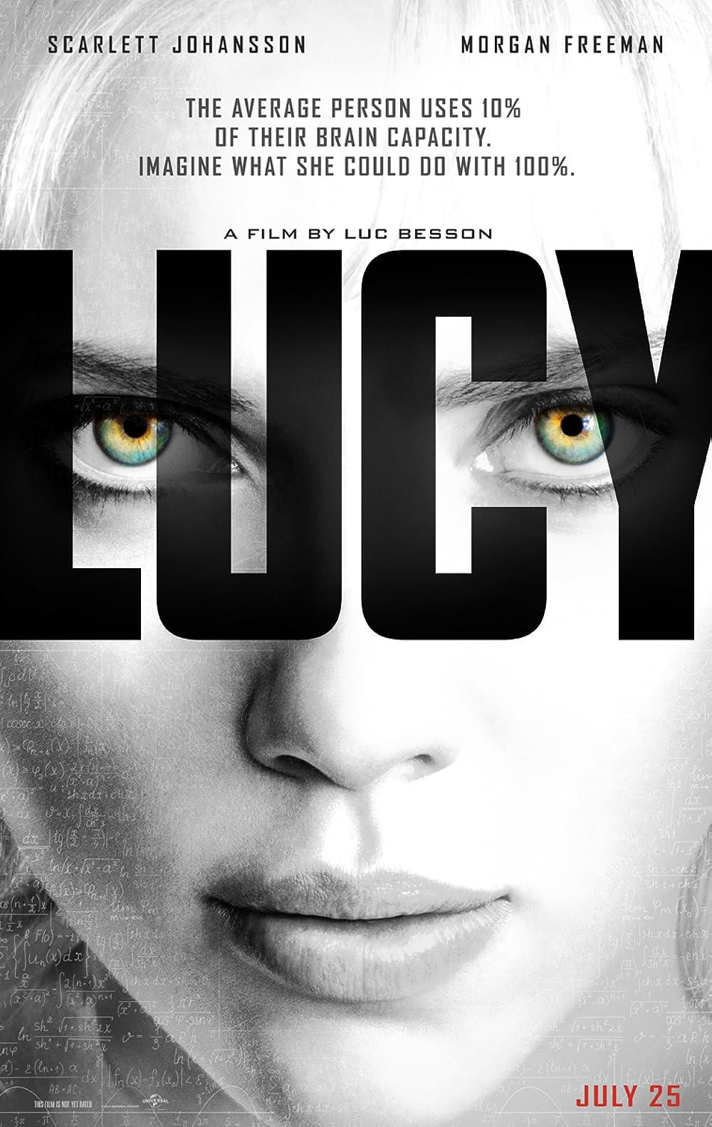 Lucy 2014 Hindi Dual Audio 1080p BluRay ESubs 1.3GB Download