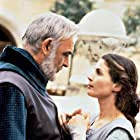 Sean Connery and Julia Ormond in First Knight (1995)
