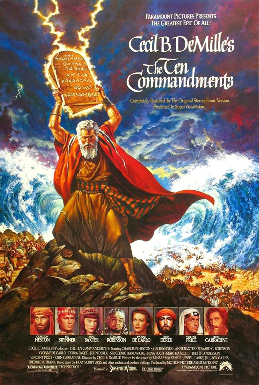 The Ten Commandments 1956 Hindi ORG Dual Audio 480p BluRay ESub 853MB Download