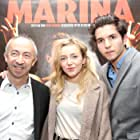 Stijn Coninx, Matteo Simoni, and Evelien Bosmans at an event for Marina (2013)