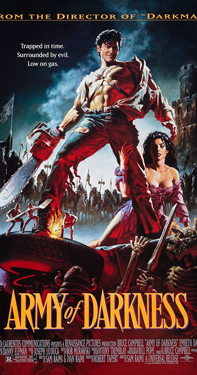 Play or Watch Movies for free Army of Darkness (1992)