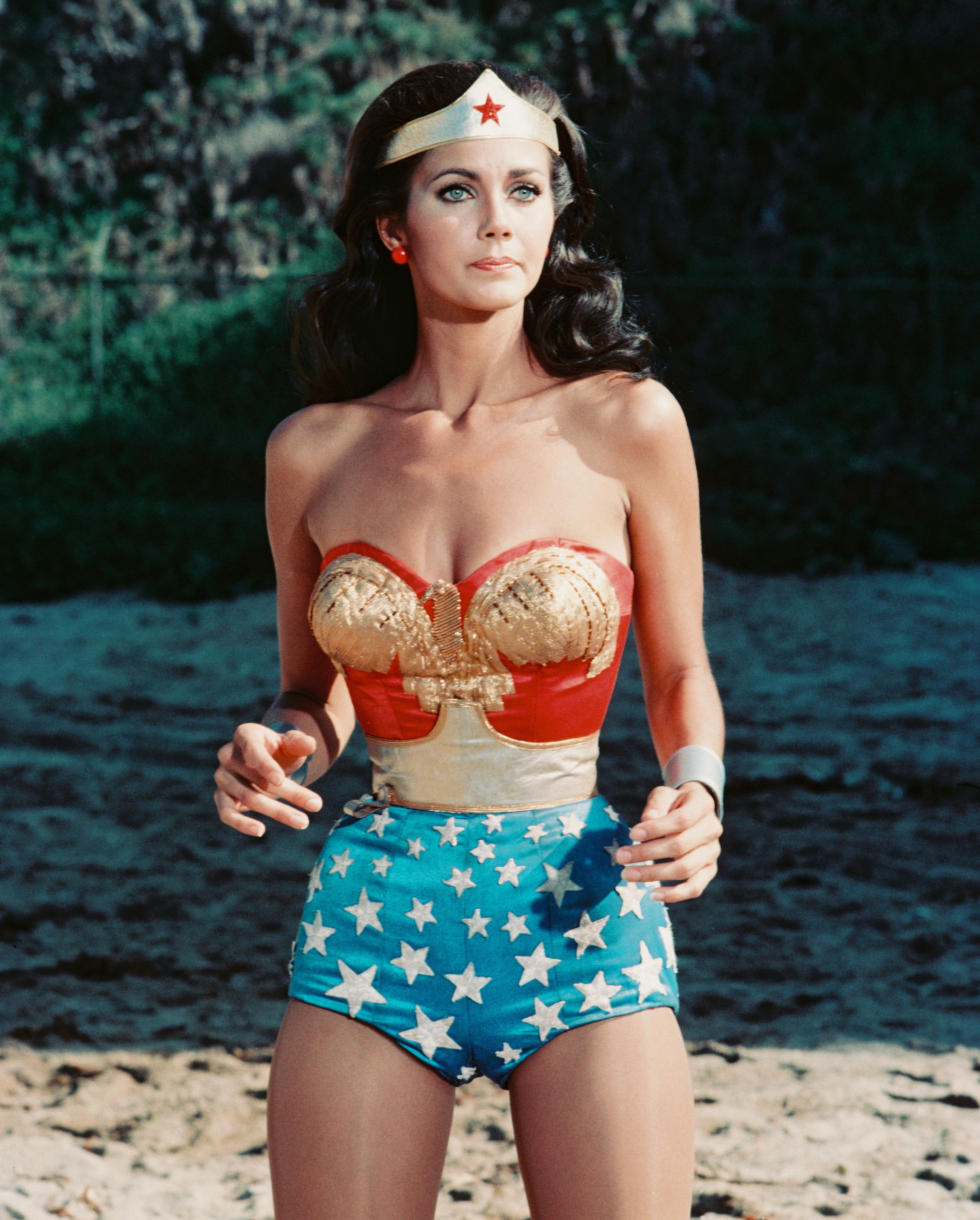 Lynda Carter in Wonder Woman (1975)