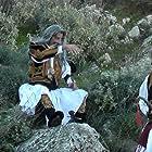 Theodoros Kolovos, Panagiotis Arvanitis, and Vasilis Theotokatos in Pou sai more Nikitara (2021)