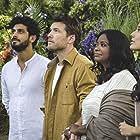 Octavia Spencer, Sam Worthington, Avraham Aviv Alush, and Sumire in The Shack (2017)