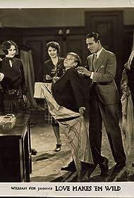 Florence Gilbert, Albert Gran, John Harron, Natalie Kingston, Sally Phipps, and Coy Watson in Love Makes 'Em Wild (1927)