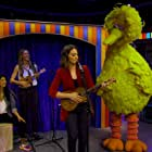 Sara Bareilles and Big Bird in The Not Too Late Show with Elmo (2020)