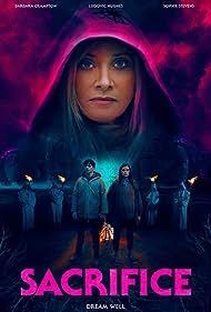 Barbara Crampton, Sophie Stevens, and Ludovic Hughes in Sacrifice (2020)