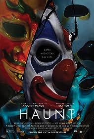 Damian Maffei, Justin Marxen, Terri Partyka, and Chaney Morrow in Haunt (2019)