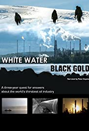 White Water, Black Gold Poster