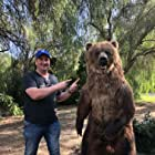 Producer Philip Waley and Bear- Disney Ranch