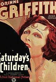 Saturday's Children(1929) Poster - Movie Forum, Cast, Reviews