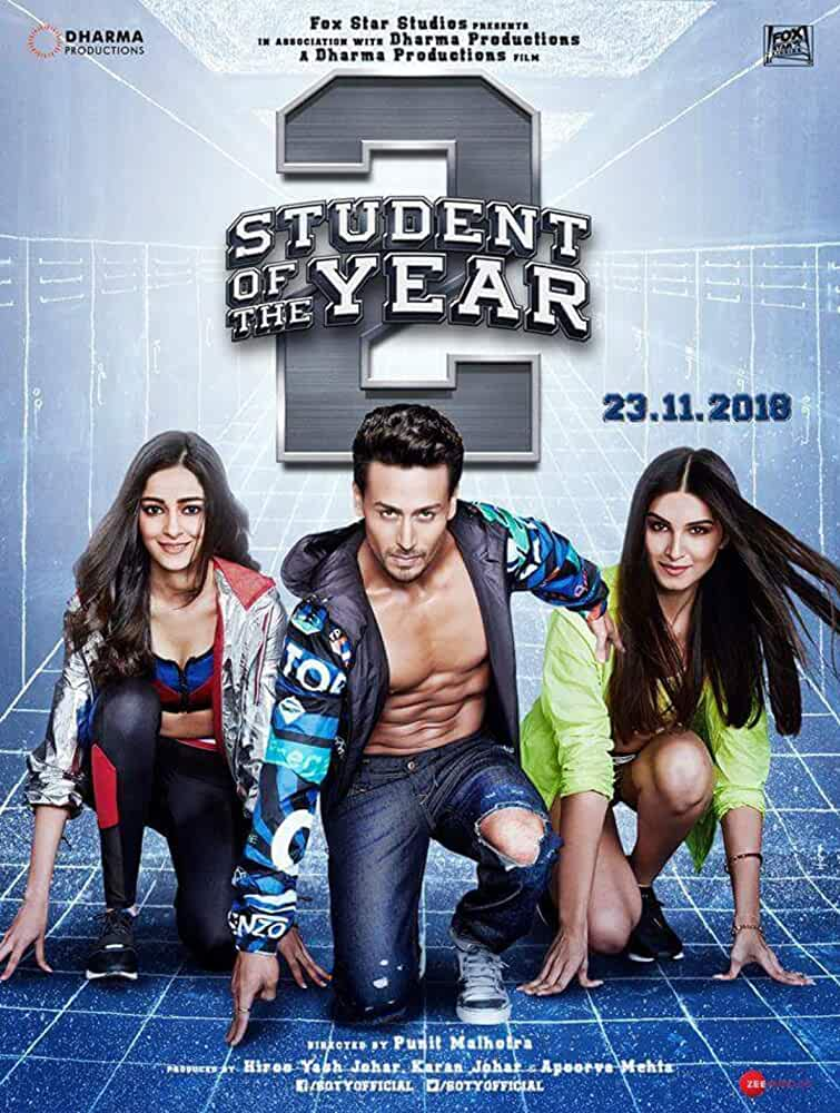 Student of the Year 2 (2019) 720P WEB-HD -Tiger Shroff
