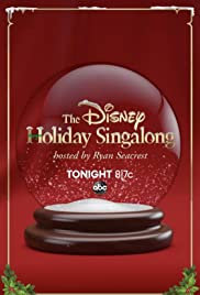 The Disney Holiday Singalong Poster