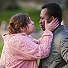 Justin Amankwah and Natalie Abbott in Aftertaste (2021)
