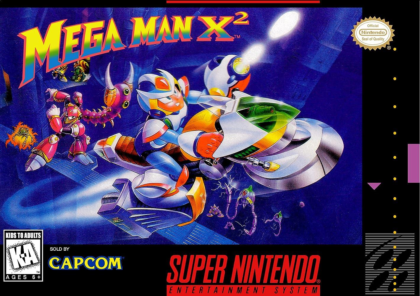 Image result for mega man x2 cover