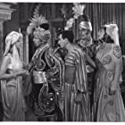 Eddie Cantor, Douglass Dumbrille, June Lang, Gypsy Rose Lee, and Roland Young in Ali Baba Goes to Town (1937)