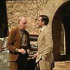 Fernando Fernán Gómez and Nacho Martínez in El viaje a ninguna parte (1986)
