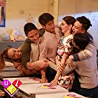 Aljur Abrenica, Janine Gutierrez, Lovely Abella, Bryan Benedict, Kyle Vergara, and Kai Atienza in Usapang Real Love (2016)