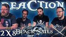 Black Sails 2x8 REAZIONE !!