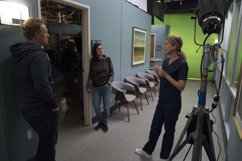 Kevin McKidd and Ellen Pompeo in Grey's Anatomy (2005)
