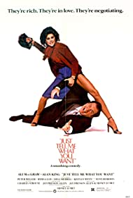 Alan King and Ali MacGraw in Just Tell Me What You Want (1980)