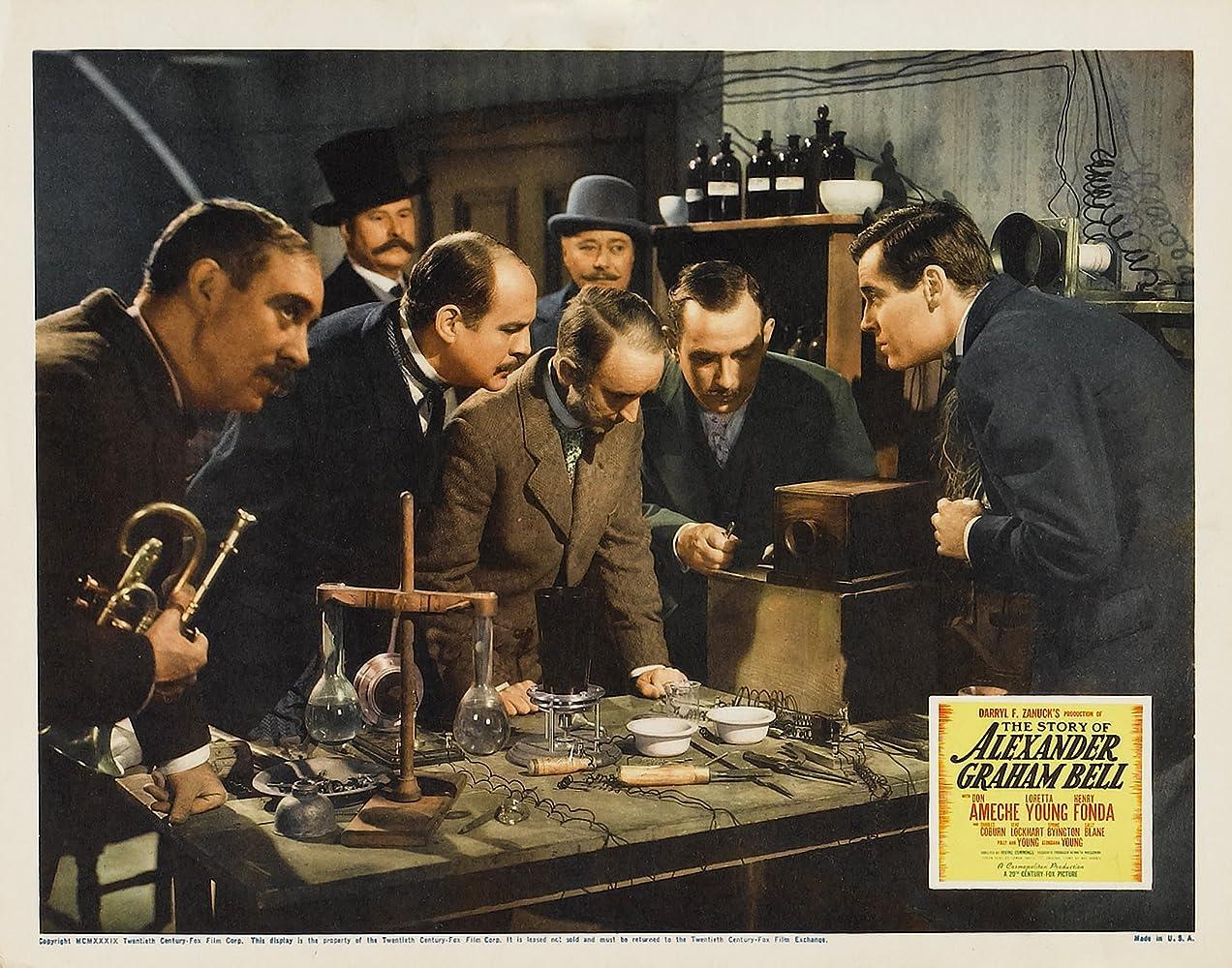 Henry Fonda in The Story of Alexander Graham Bell 1939