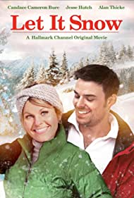 Candace Cameron Bure and Jesse Hutch in Let It Snow (2013)