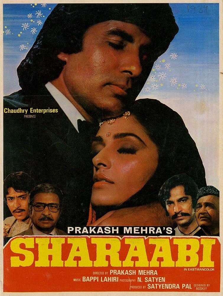 Sharaabi 1984 Hindi Movie DvdRip 500mb 480p 1.7GB 720p 6GB 1080p