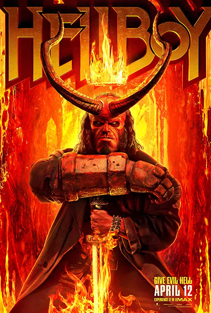 Download Hellboy (2019) Full Movie In Hindi-English (Dual Audio) Bluray 480p [300MB] | 720p [1.2GB] | 1080p [3.2GB]