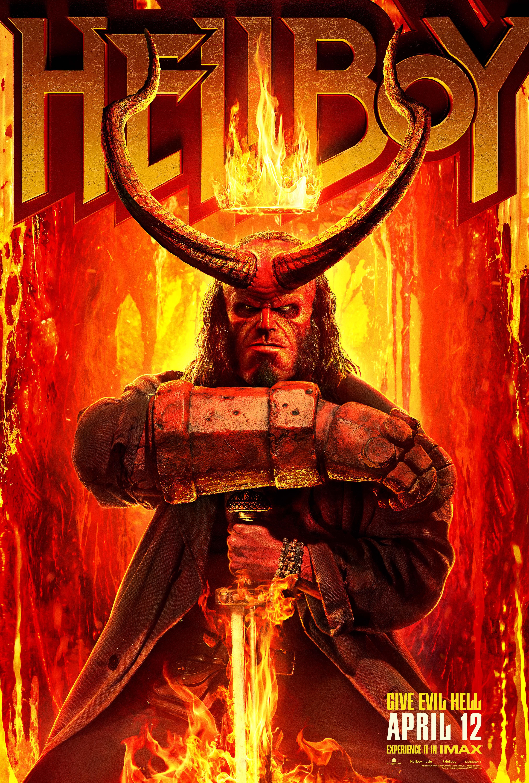 Hellboy (2019) WEBRip 720p & 1080p
