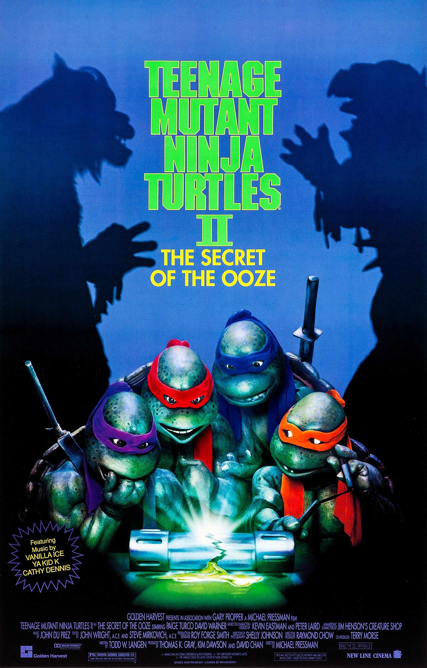 Ninja Turtles//Teenage Mutant Hero Turtles 9 sticker de 1989