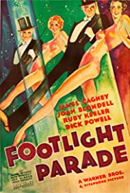 James Cagney, Joan Blondell, Ruby Keeler, and Dick Powell in Footlight Parade (1933)