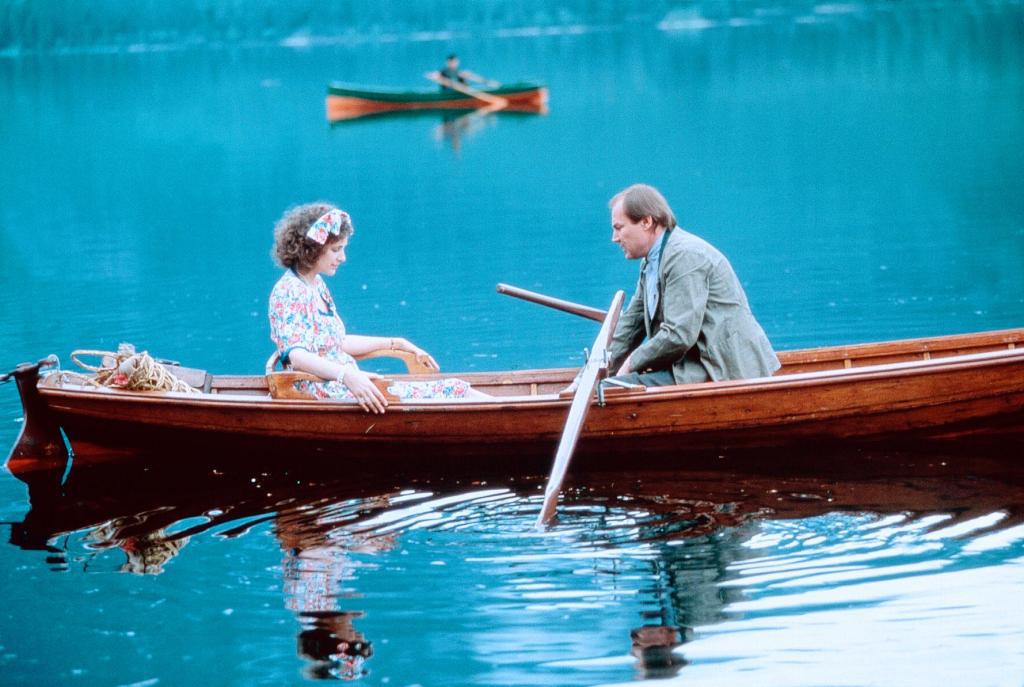 Klaus Maria Brandauer and Rebecca Miller in Georg Elser - Einer aus Deutschland (1989)