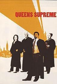 Oliver Platt, Annabella Sciorra, Robert Loggia, and L. Scott Caldwell in Queens Supreme (2003)