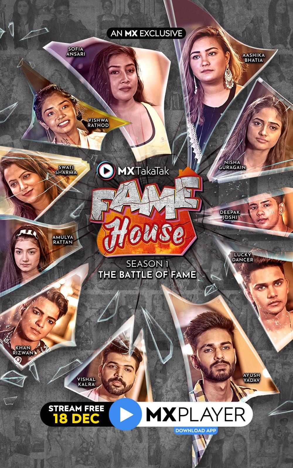MX TakaTak Fame House 2020 S01 Hindi Complete Web Series 480p, 720p HDRip Download