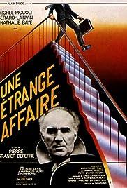 Une étrange affaire(1981) Poster - Movie Forum, Cast, Reviews