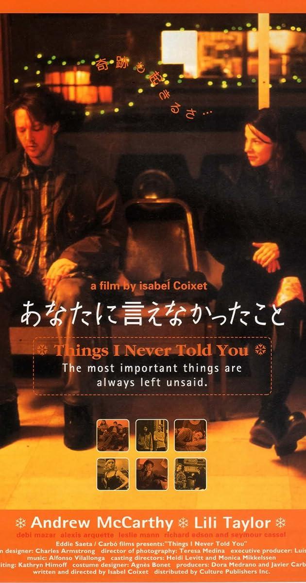 Cosas Que Nunca Te Dije 1996 Imdb