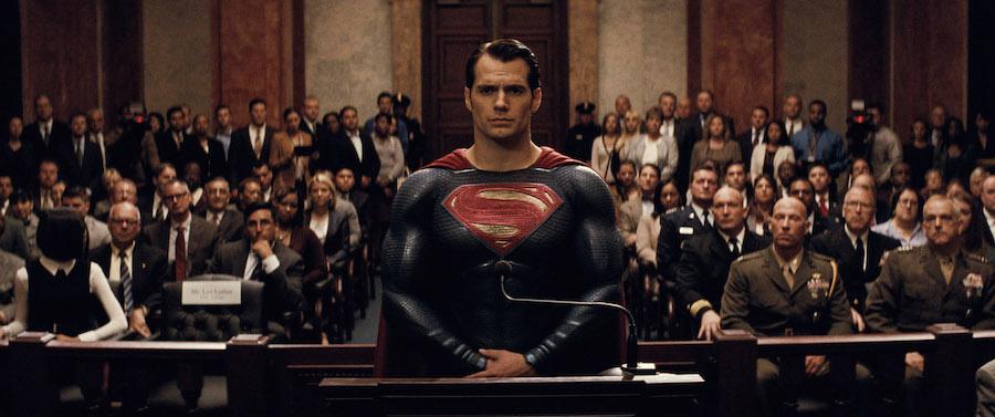 Henry Cavill in Batman v Superman: Dawn of Justice (2016)