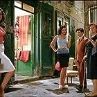 Agostina Belli, Tosca D'Aquino, Fausto Paravidino, and Donatella Finocchiaro in Amore che vieni, amore che vai (2008)
