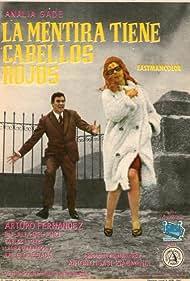 Arturo Fernández and Analía Gadé in La mentira tiene cabellos rojos (1962)