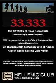 33,333 The Odyssey of Nikos Kazantzakis Poster