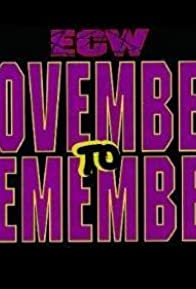 Primary photo for ECW November to Remember