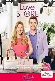 Robert Buckley and Alexandra Breckenridge in Love in Store (2020)