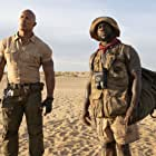 Kevin Hart and Dwayne Johnson in Jumanji: The Next Level (2019)