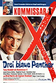 Kommissar X - Drei blaue Panther Poster