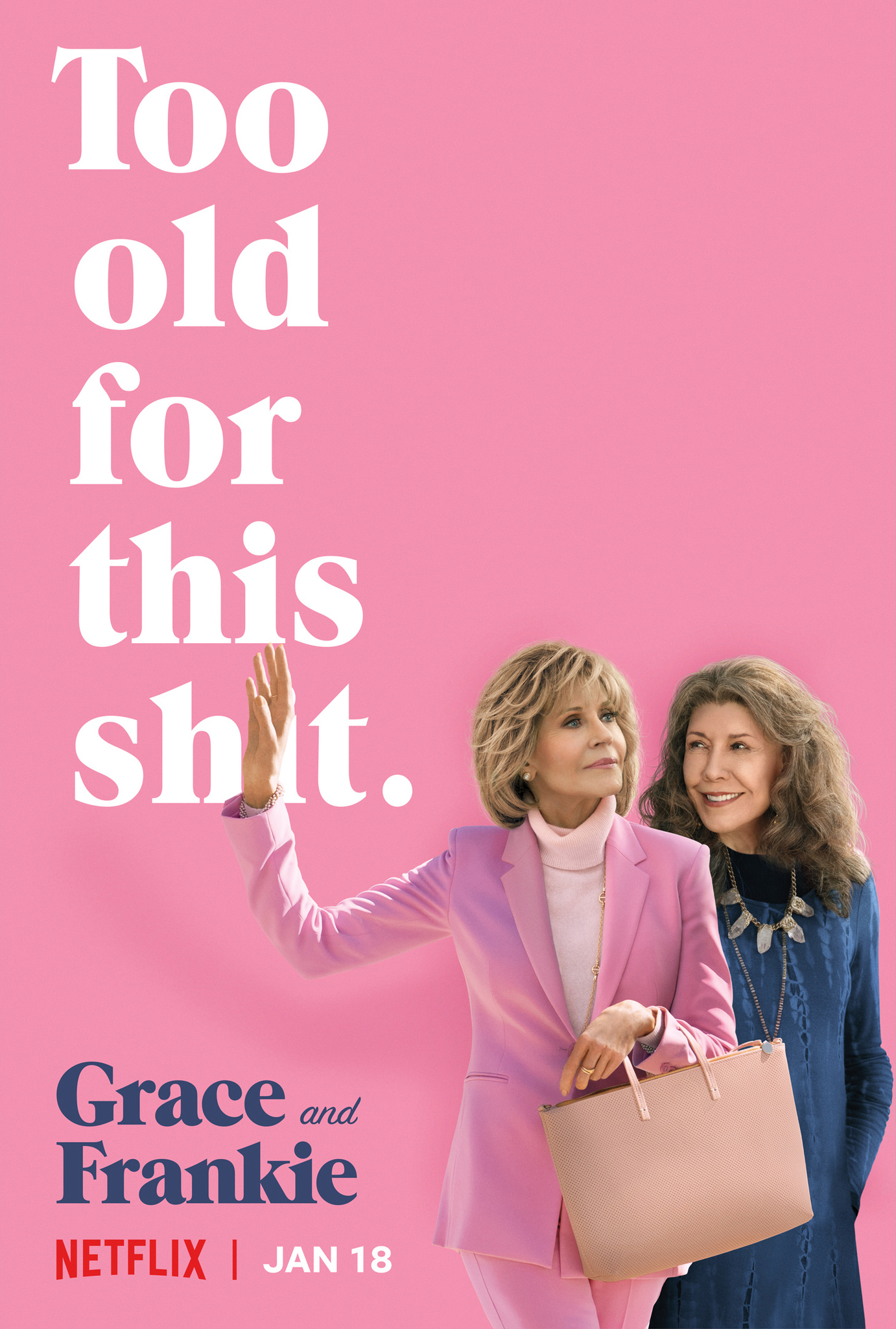 Image result for Grace & Frankie poster