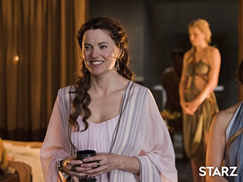 Lucy Lawless in Spartacus: Gods of the Arena (2011)